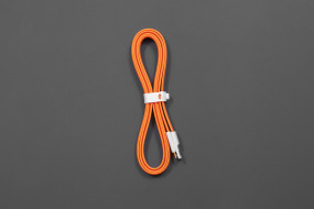 Flat Noodle Micro USB Cable 1.2m