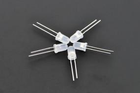 Diffused 5mm LED Pack (50 pcs)