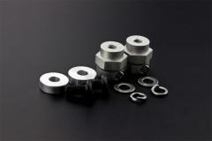 5mm Rubber Wheel Coupling Kit (Pair)