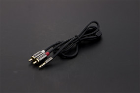 3.5mm Stereo Male to Two RCA Stereo Male Y-Cable
