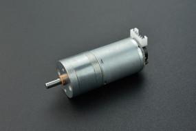 12V DC Motor 350RPM w/Encoder (12kg*cm)