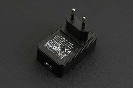 Wall Adapter USB Power Supply 5V@2.5A (European Standard)