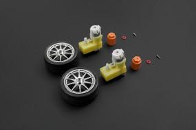 D65 wheel set - Silver