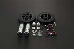 Rubber Wheel & Motor Kit