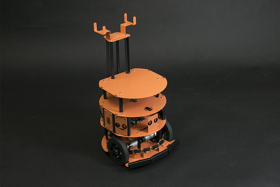 HCR - Mobile Robot Platform with Sensors and Microcontroller