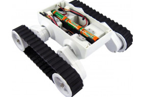Rover 5 Tank Chassis (2 motors with 2 Encoders)(Discontinued)
