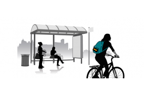 Arduibag : a connected backpack for bike riders!