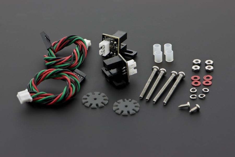 Wheel Encoders for DFRobot 3PA and 4WD Rovers