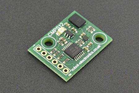 Tilt Compensated Magnetic Compass (CMPS12)