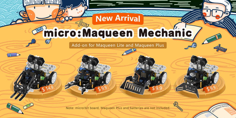 micro:Maqueen Mechanic
