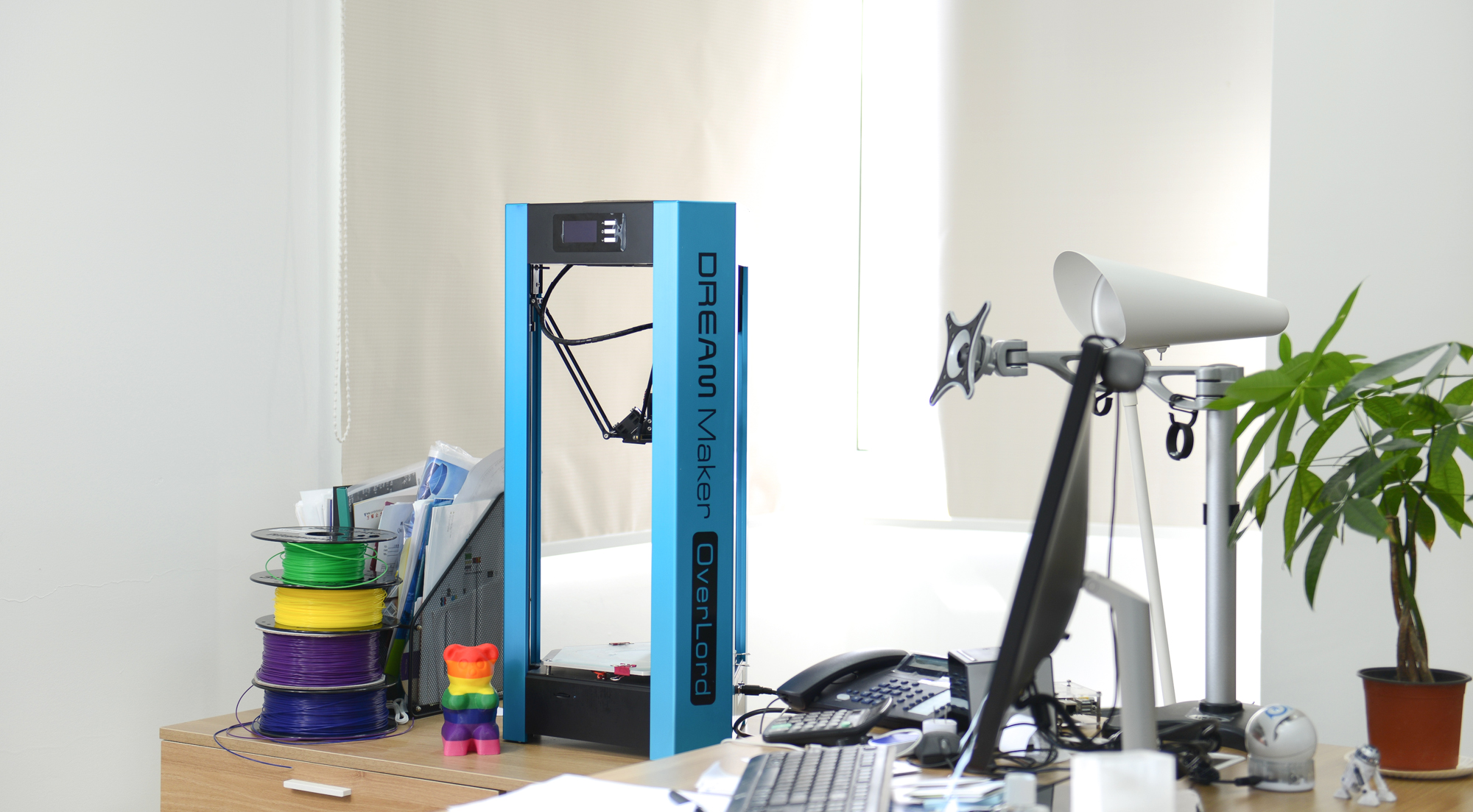 New Affordable 3D Printer OverLord is Coming on Kickstarter