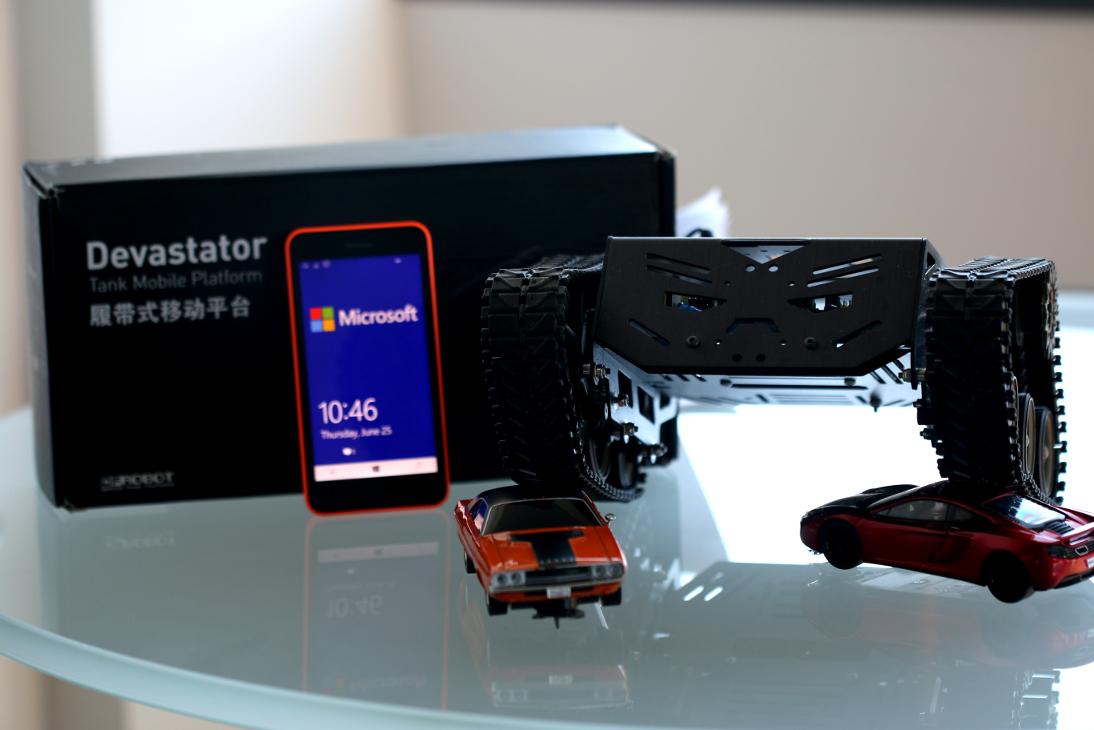 Devastator robot image