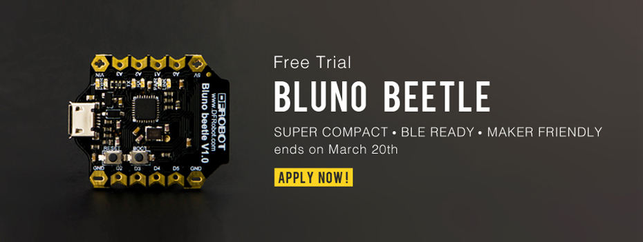 March Free Trial – Get the $15 Bluno Beetle for Free! #FREETRIAL