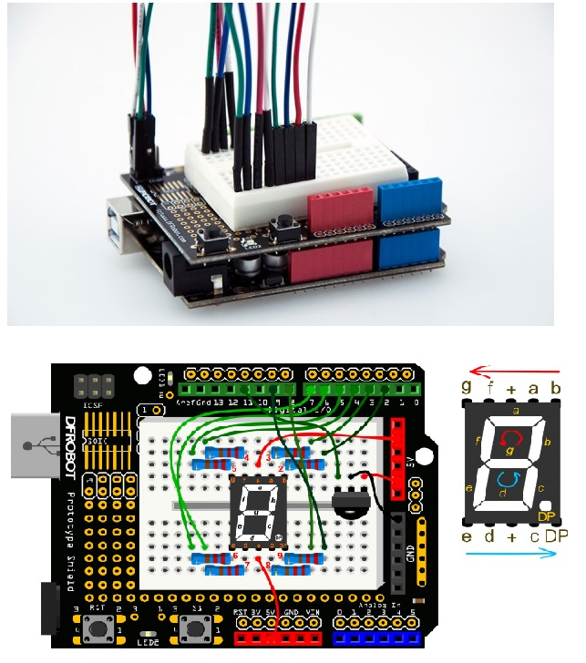 Prototyping Shield for Arduino - DFRobot