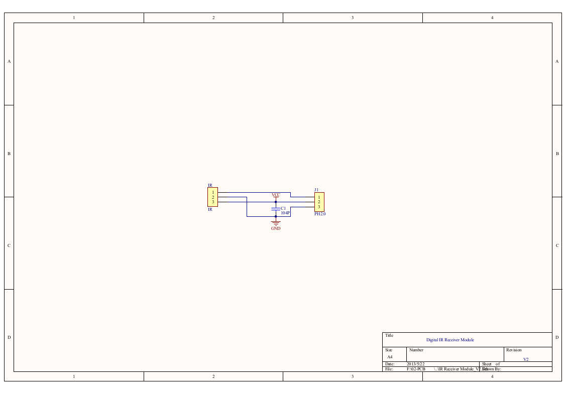 gravity digital ir receiver module