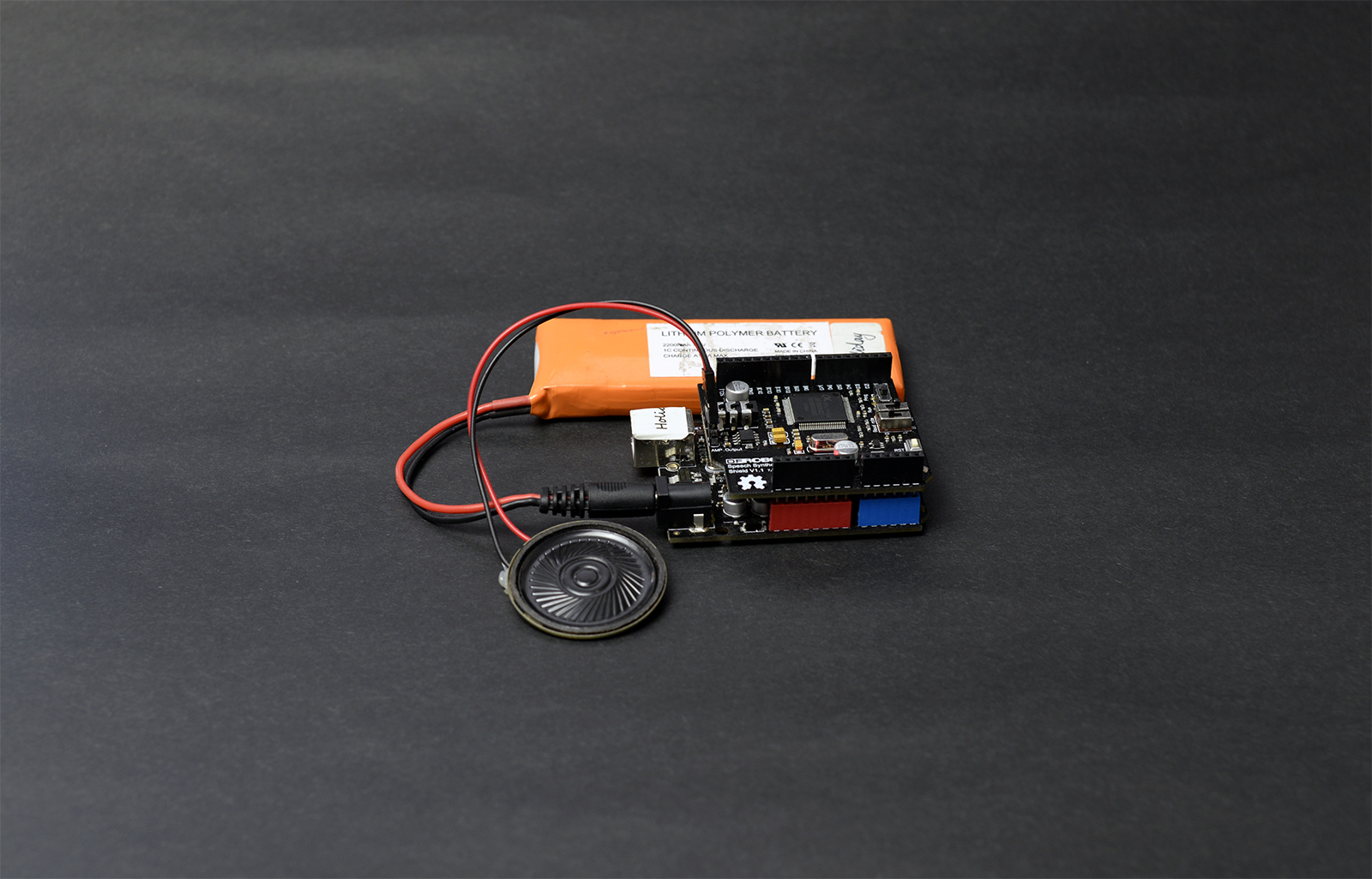 Text-to-Speech Shield for Arduino-DFRobot