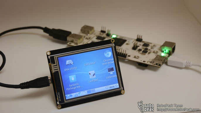 2 8 Usb Tft Touch Display Screen For Raspberry Pi Dfrobot