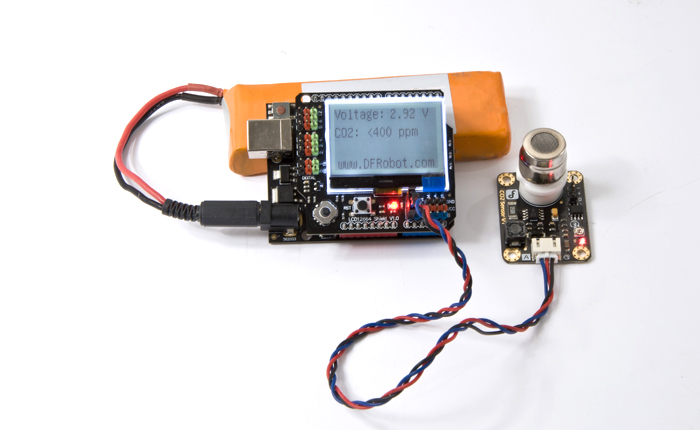 LCD12864 Shield for Arduino-DFRobot