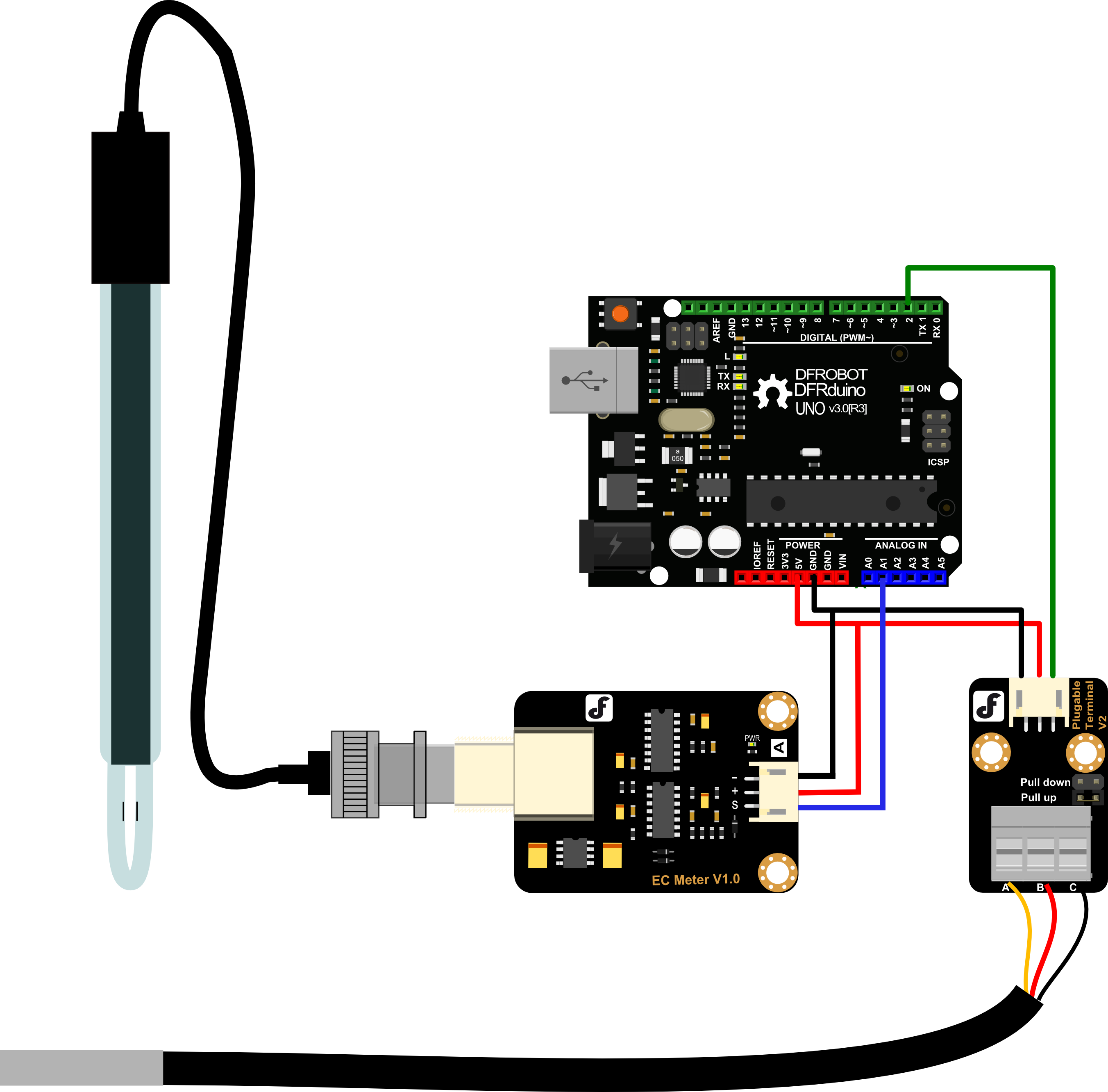 Analog Electrical Conductivity Meter With Temperature Compensation 1jz Gte Wiring Diagram Schematic