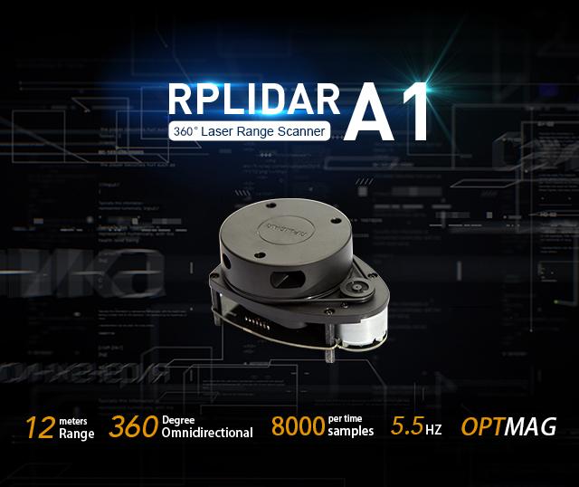 RPLIDAR A1M8 - 360 Degree Laser Scanner Development Kit