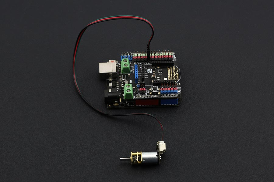 Gravity ArduinoDC Micro Metal Gear Motor w/Driver