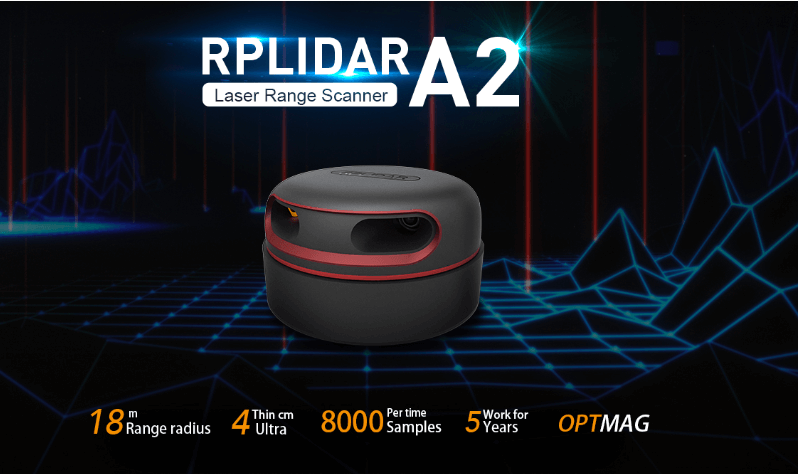 RPLIDAR A2M6 - 360 Degree Laser Scanner Development Kit