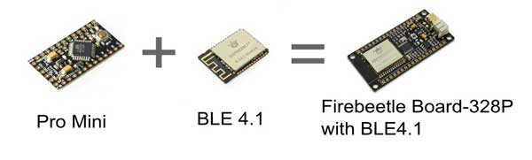 FireBeetle Board-328P with BLE4.1 Features