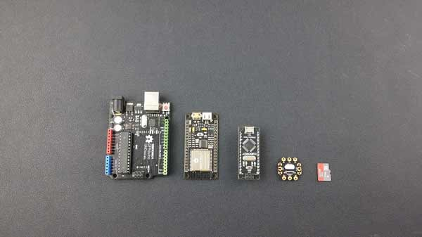 FireBeetle Board-328P with BLE4.1 Dimension