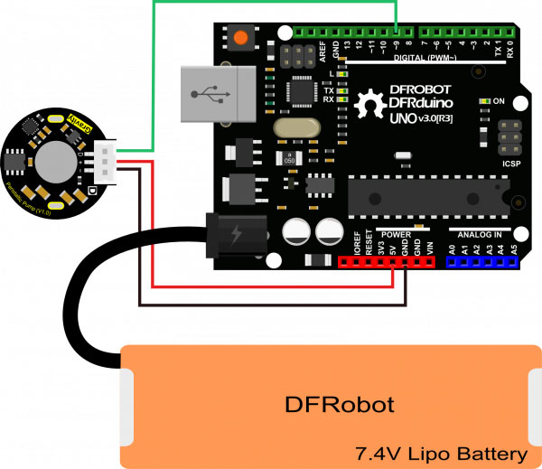 Gravity: Digital Peristaltic Pump (PPM Servo Control) - DFRobot