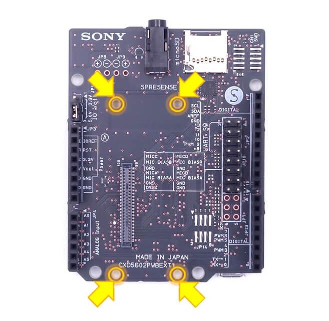 Sony Spresense Extension Board