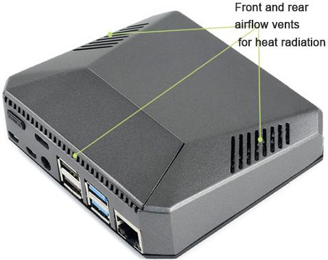 Argon ONE Raspberry Pi 4 Aluminium Case