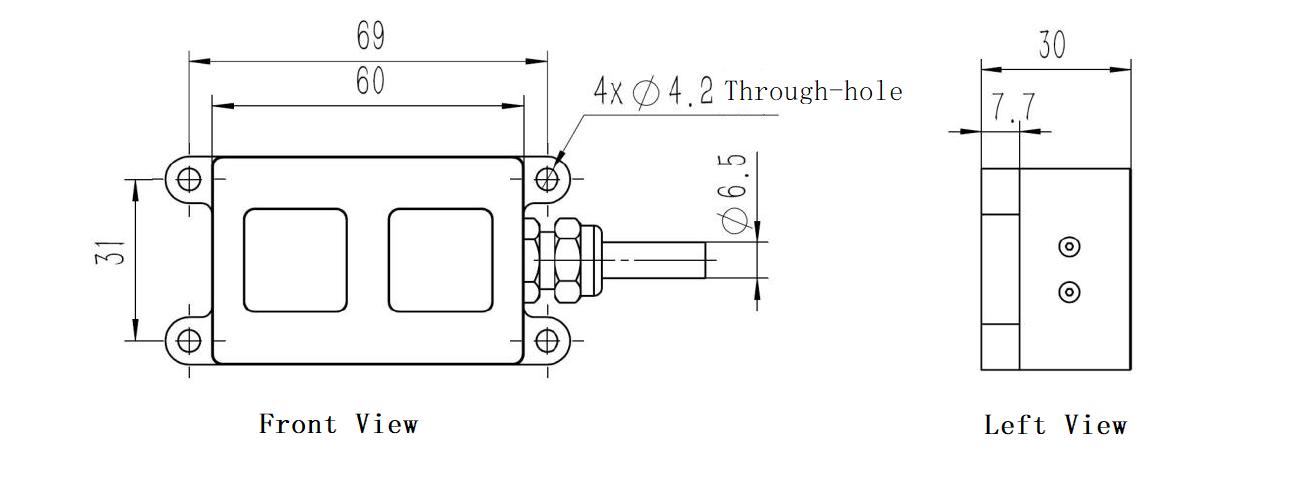 HPS-3D160-U Area Array Lidar