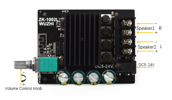 High Power Bluetooth Power Amplifier Board (100W*2)