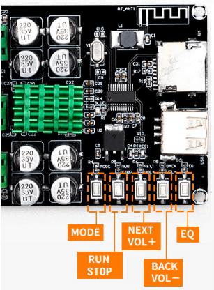 Digital Bluetooth Power Amplifier (50W*2)