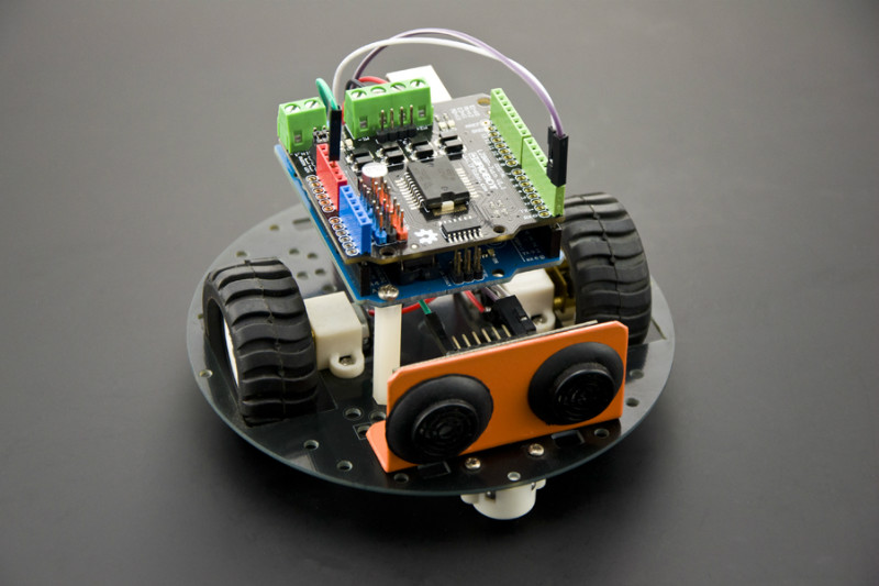 Gravity: 2x2A Motor Shield for Arduino Twin Projects