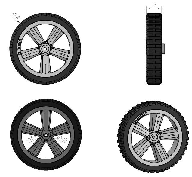 TT Motor Wheels