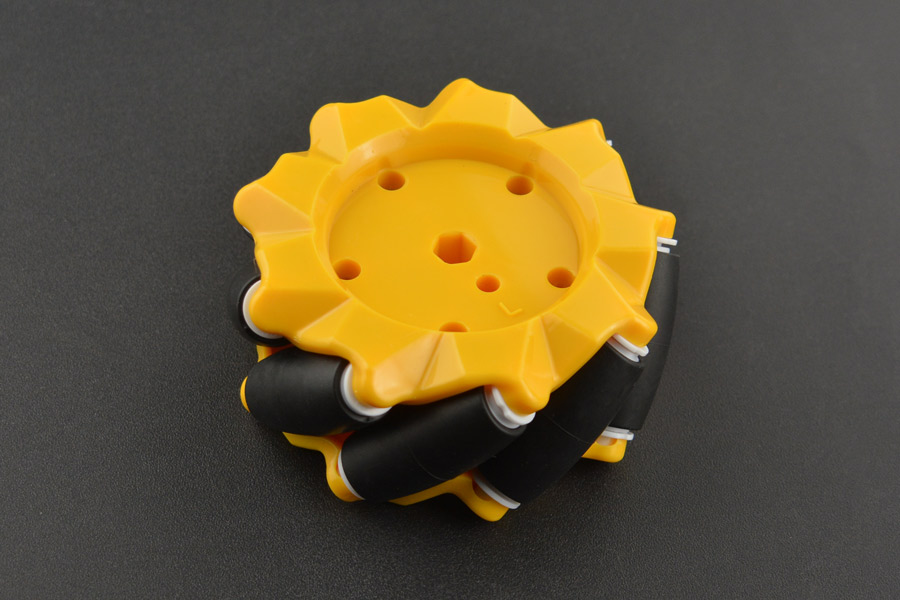 Mecanum Wheel Left (80mm)