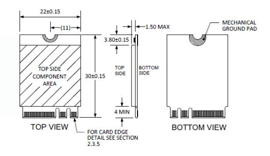 M.2 (A+E Key) to Gigabit Ethernet Module
