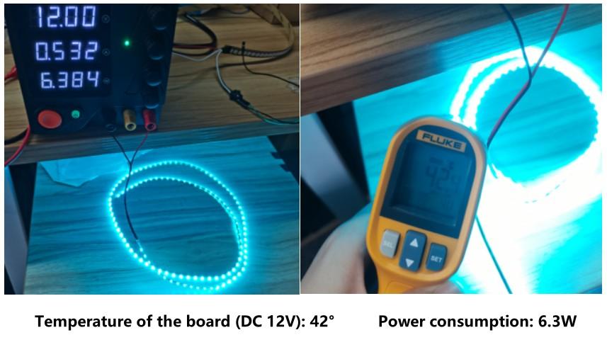12V Flexible LED Strip (120 LEDs)