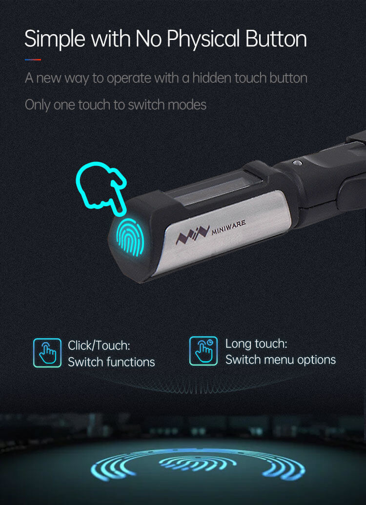 Miniware DT71 Mini Digital Tweezers
