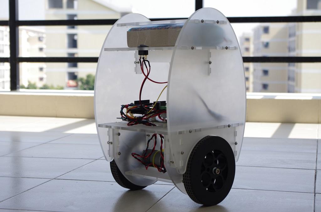 Wheel balancing robot kit australia