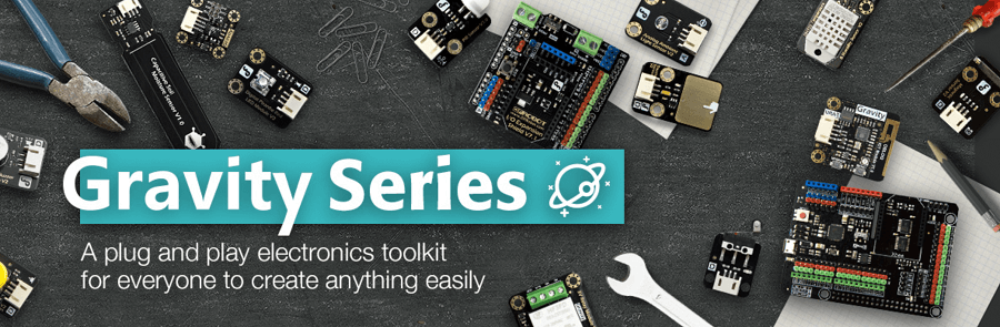 Gravity IoT Starter Kit for micro:bit Gravity Series