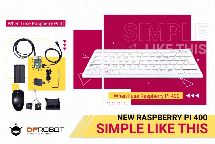 new Raspberry Pi 400