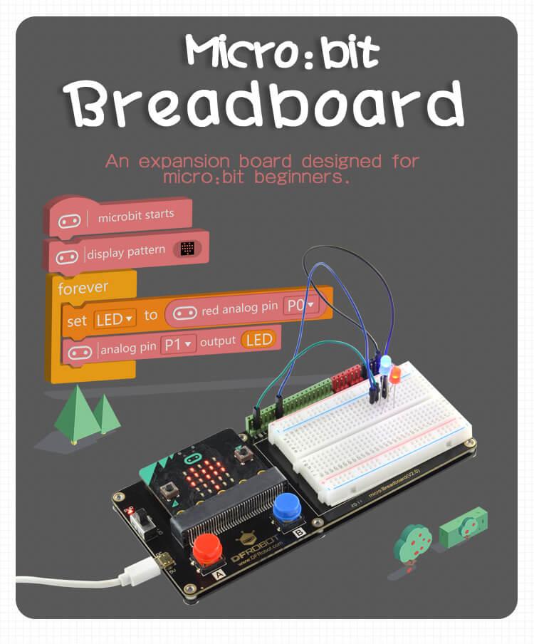 micro: Breadboard