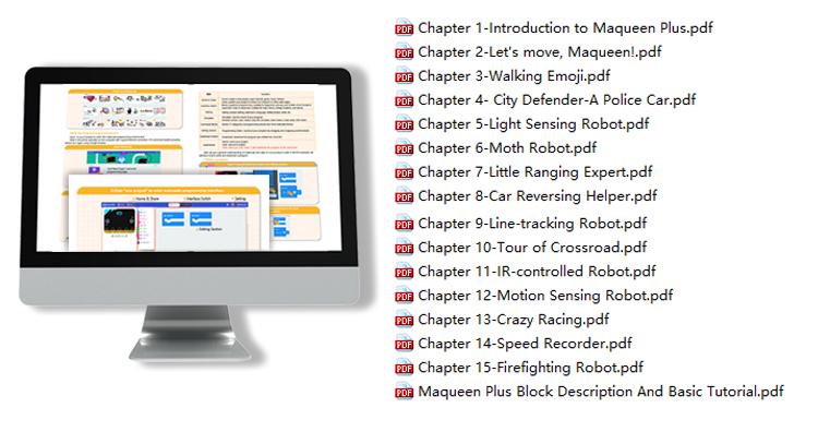 Maqueen Plus, Tutorial, Free Tutorials, robot tutorials, robot