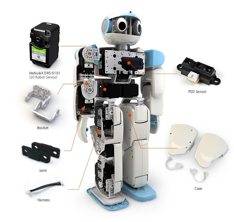 HOVIS Eco Plus - 20 DOF Humanoid Robot-DFRobot