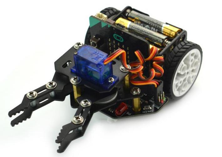 micro: Maqueen with micro:Maqueen Mechanic-Beetle