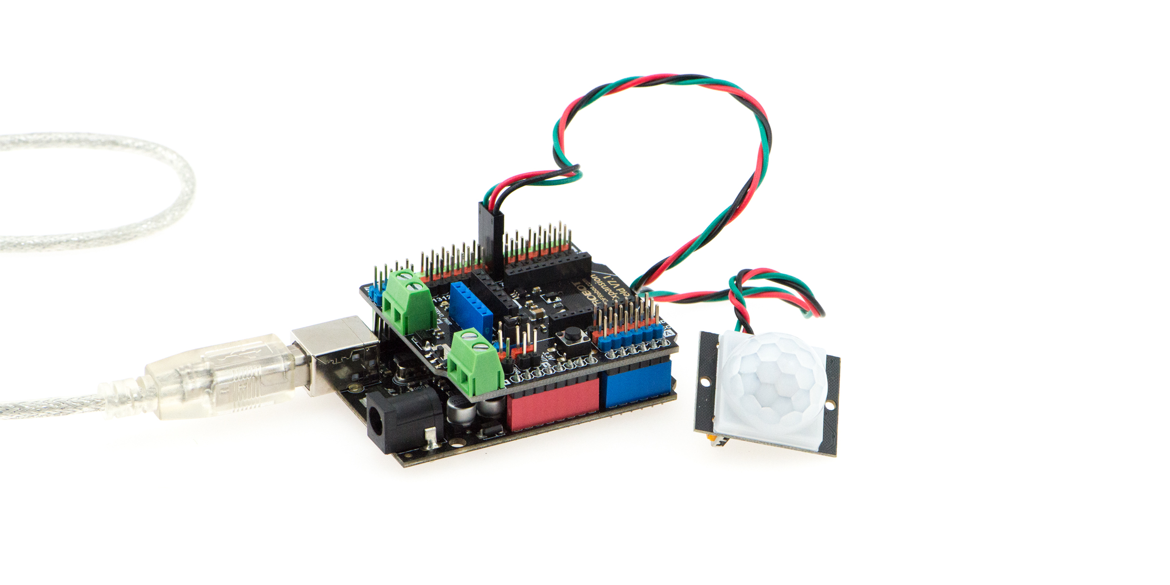Gravity Digital Infrared Motion Sensor For Arduino Connection