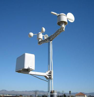 Weather Station Kit with Anemometer/Wind Vane/Rain Bucket