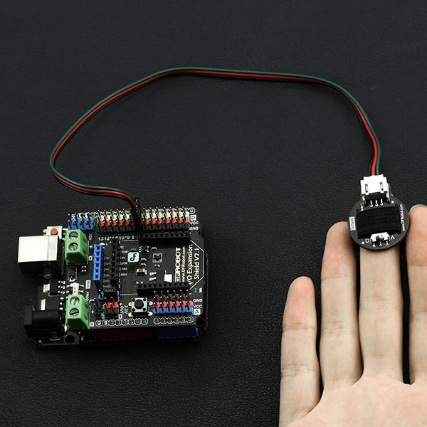 Gravity: Heart Rate Monitor Sensor For Arduino - DFRobot